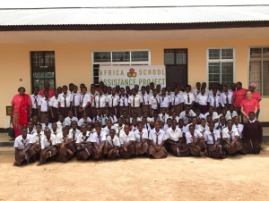 The first class of 96 Kupanda girls in northern Tanzania!