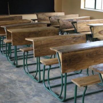 ASAP has desks built by local tradesmen for our schools.