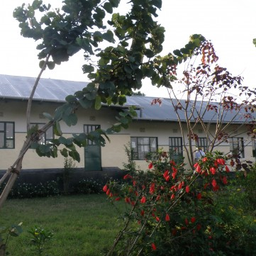 Mbasseny Primary School, the first school developed by ASAP.